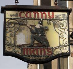 The Canny Man's pub, Morningside, Edinburgh