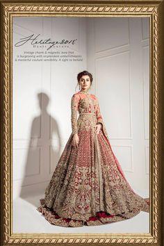 Heritage 2018 - Heritage Line - Bridal Couture Shadi Dresses, Pakistani Formal Dresses, Pakistani Wedding Outfits, Indian Bridal Outfits, Pakistani Dress Design, Asian Bridal Dresses, Asian Wedding Dress, Wedding Dresses For Girls, Indian Dresses