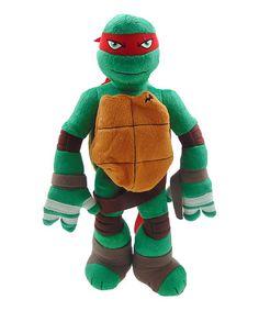 Love this Teenage Ninja Turtles Ralphael Plush Backpack on #zulily! #zulilyfinds
