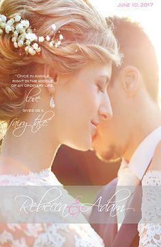 Wedding Magazine Program, unique program