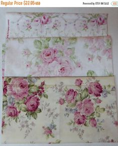 YEAR END SALE Flower Collection-#32~Cotton Fabric Bundle,End of Bolt~1Yds.30 inches ~Fast Shipping Eob231