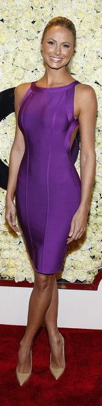 Stacy Keibler in Herve Leger
