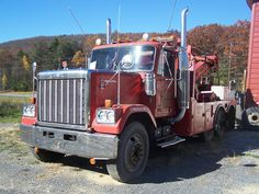 Old Iron Collection Dump Trucks, Tow Truck, Towing And Recovery, Vintage Trucks, Classic Trucks, Motor Car, Tractors, Chevy, Transportation