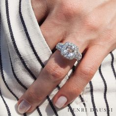 Nothing sparkles quite like a Daussi. #jewelry #diamonds #engagementring #summer2017 #stripes Classic Wedding Rings, Elegant Engagement Rings, Beautiful Wedding Rings, Wedding Ring Designs, Wedding Ideas, Wedding Stuff, Dream Wedding, Ideal Cut Diamond, Dress Rings