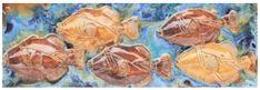 Hawaiian Sea Turtle, Hawaiian Designs, Handmade Kitchens, Kitchen Backsplash, Tropical, Ceramics, Artwork, Painting, Tile