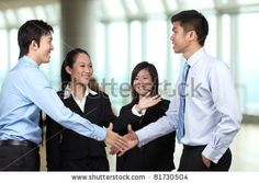 Asian professional networking