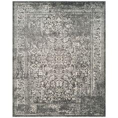 Safavieh Evoke Grey/Ivory 3 ft. x 5 ft. Area Rug-EVK256D-3 - The Home Depot