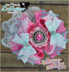 Vintage Inspired Boutique Bow February Open Theme - An Auction Style Event Opens 2/24/15 at 5 PM CST Closes at 2/26/15 at 9 PM CST Purchase Here: www.facebook.com/dollhousedesigngroup