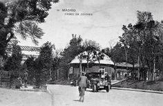 Paseo de coches del Retiro. 1925.