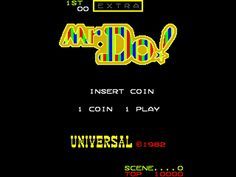Mr. Do! , Arcade, Universal, 1982