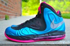 Nike Air Max Hyperposite 'Dynamic Blue/Reflective Silver-Fireberry'