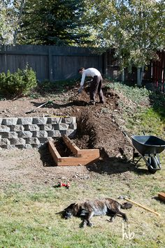 DIY Landscaping: Building a Retaining Wall and Garden Terracing