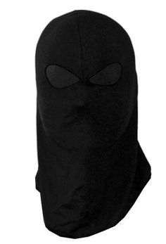 BLACK COTTON SKI SNOWBOARDING WINTER FULL FACE MASK 100% STRETCH MATERIAL~ONE SIZE FITS ALL~ FULL FACE COVER by DESC. $4.00. FULL FACE 100% COTTON STRETCH MATERIAL. LIGHTWEIGHT. COMFORTABLE FIT. TWO HOLE MASK.
