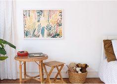 Affiche Ours Fleuri de Marion Barraud - L'Affiche Moderne