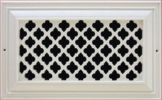 Resin Grill Moroccan Pattern 8x8 $51 6x6 $33