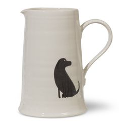 Labrador Table Jug