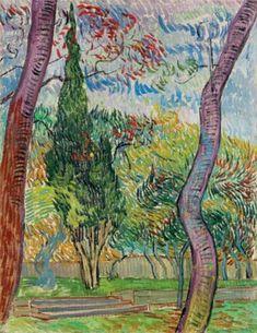 View Parc de lhôpital Saint-Paul by Vincent van Gogh on artnet. Browse upcoming and past auction lots by Vincent van Gogh. Art Van, Van Gogh Art, Vincent Van Gogh, Paul Vincent, Saint Vincent, Desenhos Van Gogh, Van Gogh Pinturas, Van Gogh Paintings, Oeuvre D'art