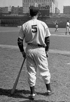 """Joe DiMaggio - """"The Yankee Clipper"""" - NY Yankees"""