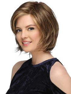 Monika by Estetica Designs - Lace Front Wig - The HeadShop Wigs, Diy Abschnitt, Cute Bob Haircuts, Choppy Bob Hairstyles, Bob Hairstyles For Fine Hair, Trending Hairstyles, Bobs For Thin Hair, Wavy Bobs, Short Hair Cuts, Hair Trends, Curly Hair Styles
