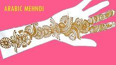 Simple Arabic Mehndi Designs, Henna Designs, Mehndi Tattoo, Mehndi Art, Mehndi Patterns, Mehndi Brides, Henna Artist, Bridal Mehndi, Channel