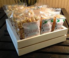 Rustic wood counter POP custom crate display-JBrothersandCompany.com