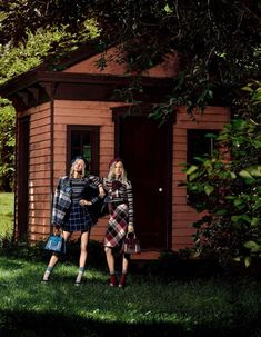 """""""Into the Woods"""": Maja Salamon and Nasty Sten by Mark Segal for Vogue Japan January 2016"""