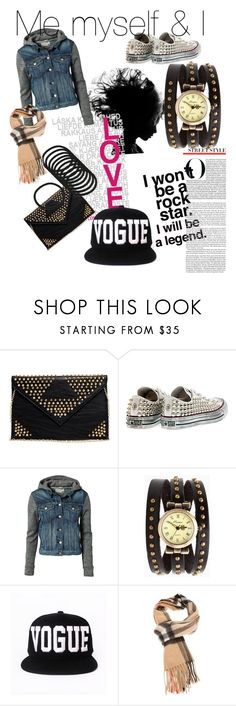 Me myself & i <3 by infante-ana on Polyvore featuring rag & bone, Converse, 2b bebe and Burberry