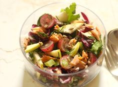 Autumn Salad with Apple and Smoked Salmon | simply fresh dinners