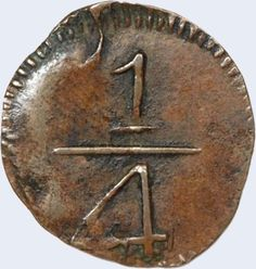 Pieza mpm0.25r-aa01 (Reverso). Moneda de la Provincia de Maracaibo. 1/4 Real. Diseño A, Tipo A. Fecha (1813)