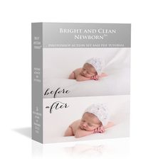 ON SALE! Bright and Clean Newborn™ Photoshop Action SetNewborn photoshop actions plus tutorial! Photography Tools, Newborn Photography, Photoshop Actions, Ps, Bright, Cleaning, Handmade Gifts, Baby, Kid Craft Gifts