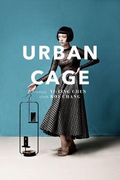 鳥かごをイメージしたiPhone・iPadスタンドシリーズ「URBAN CAGE」