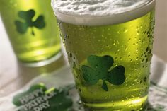 1 Simple Step and You Have Green Beer for St. Patrick's Day: Popular on St. Patrick's Day, creating a glowing glass of Green Beer is easier than you think.