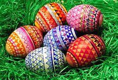 Wielkanoc, Pisanki, Malowany, Kolorowy