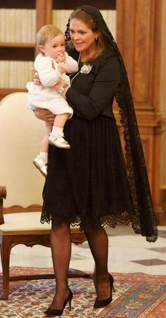 La robe de Madeleine au Vatican