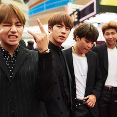 [Pin by JenniferMinSuga]  Every photo you need of BTS at the 2017 Billboard Music Awards in Las Vegas at the T-Mobile Arena. See BTS win Top Social Artist!