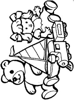 Toys Coloring Pages 6