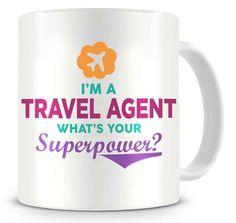 Superpower - Travel Agent - Ceramic Coffee Mug