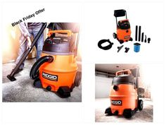 #Portable #Wet #Dry #Vac #Vacuum #Cleaner 16 Gallon 6.5 HP 12 Amp with Accessory