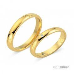 #Trauringe #Eheringe Gold Gelbgold - CERA3517