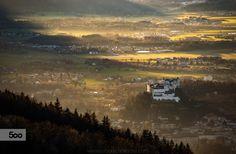 Watchpoint by Christoph Oberschneider on Salzburg Austria, Autumn Lights, Mountains, Instagram, Landscapes, Travel, Image, November, Link