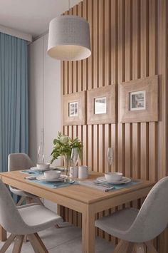 petite salle a manger table et chaise deco small dining room table and decorative chair Image Size: 1024 x 1365 Source Small Room Design, Dining Room Design, Dining Rooms, Inside Design, Esstisch Design, Minimalist Dining Room, Sweet Home, Dinner Room, Kare Design