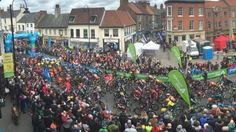 Tour de Yorkshire in Selby