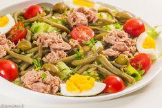 Salade de haricots verts au thon, Recette de Salade de haricots verts au thon par Kilomètre-0