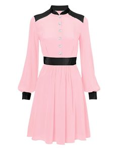 Benedicte blush shirtdress