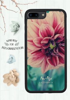 Iphone 7 Plus Case, Floral Iphone 7 Plus Case, Girly Christmas Gifts