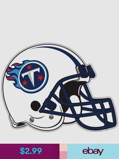 """Tennessee Titans Helmet NFL Football Car Bumper Locker Sticker Decal 5/""""X4/"""""""