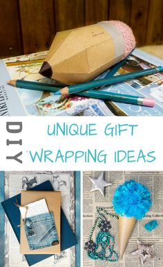 5 Unique gift wrapping ideas using brown paper that are the perfect way to show someone you care about them. Your friends and family will really appreciate the fact that you put in that extra effort #DIYGiftWrapping #BrownPaper #WrappingIdeas