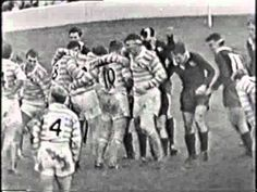 Today 6 December 1960 - Oxford 0-13 Cambridge University  Highlights of the first half of the Rugby Varsity Match in 1960