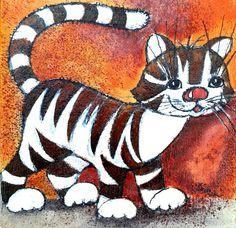 """""""Regenbogenkatzen"""", so heißt die Bilderserie von Christina Lewin"""