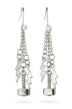 ThinkGeek :: Thor Dangle Earrings Omg! I need these!!!!!!!!!!!